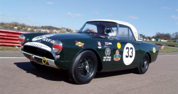 1962 Sunbeam Alpine Le Mans. Photo: Peter Collins