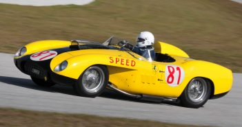 Cavallino 28 Open Track Day at PBIRFerrari 290 MM s/n 0606 Chuck Andersen