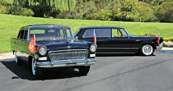 Hongqi Red Flag 1965 and 1974