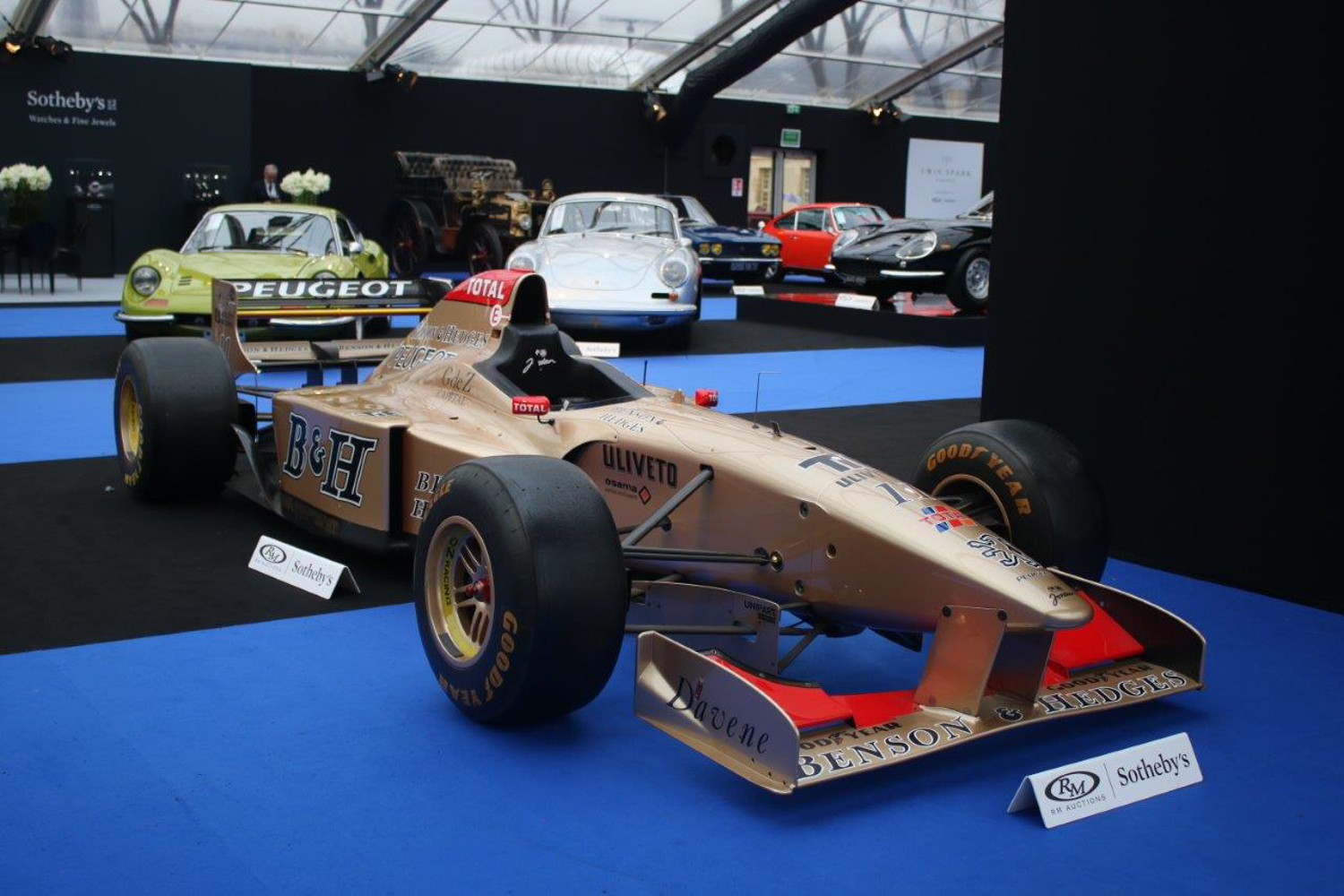 RM Auction's Retromobile display.