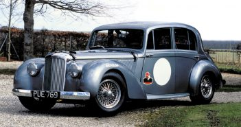 1954 Alvis Grey Lady. Photo: Peter Collins