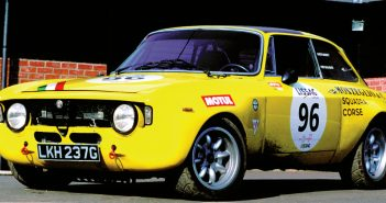 1971 Alfa Romeo GTAm. Photo: Peter Collins