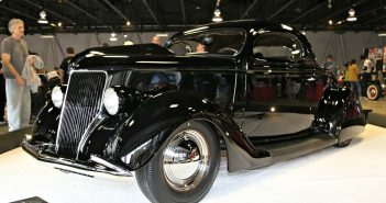 1936 Ford. Winner-Triple Gun Award of Excellence. West Coast Customs Outstanding Nostalgia Rod or Custom Award. Bryan Rusk