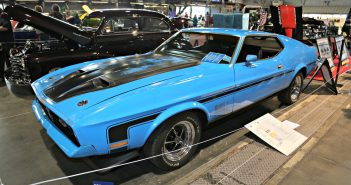 1971 Ford Mustang Mach 1, 351 M-Code automatic. Johnny Yee
