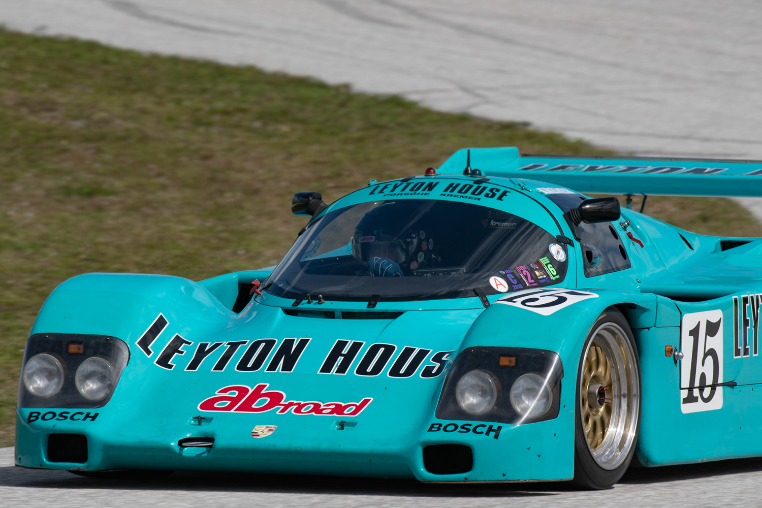 Brian Redmans Targa 66 - Feb 22nd-24th 2019Porsche 962 Chuck Andersen