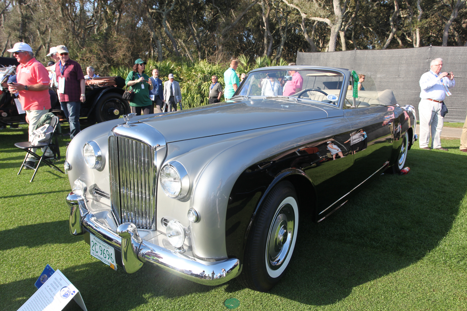 Very pretty 1957 Bentley S1 Continental DHC - won Best in Class Rolls Royce/Bentley.