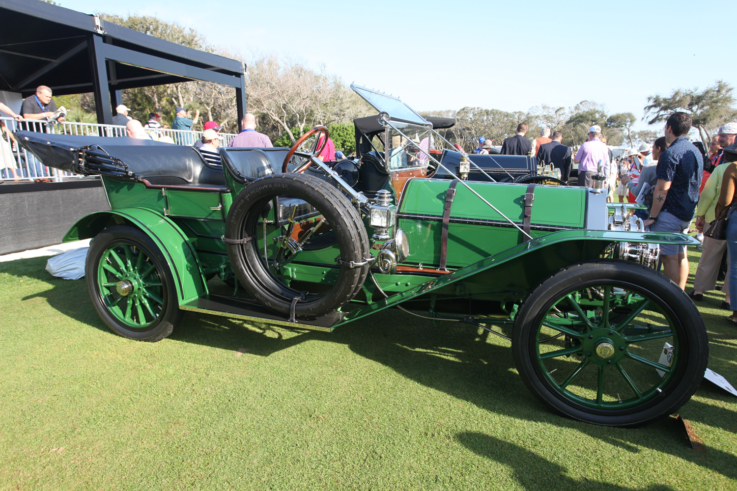 The 1910 Palmer-Singer was a fast car - top speed 85 mph.