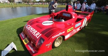 As an Alfista, my favorite car driven by Jacky Ickx had to be the 1975 Alfa Romeo TT33/12.