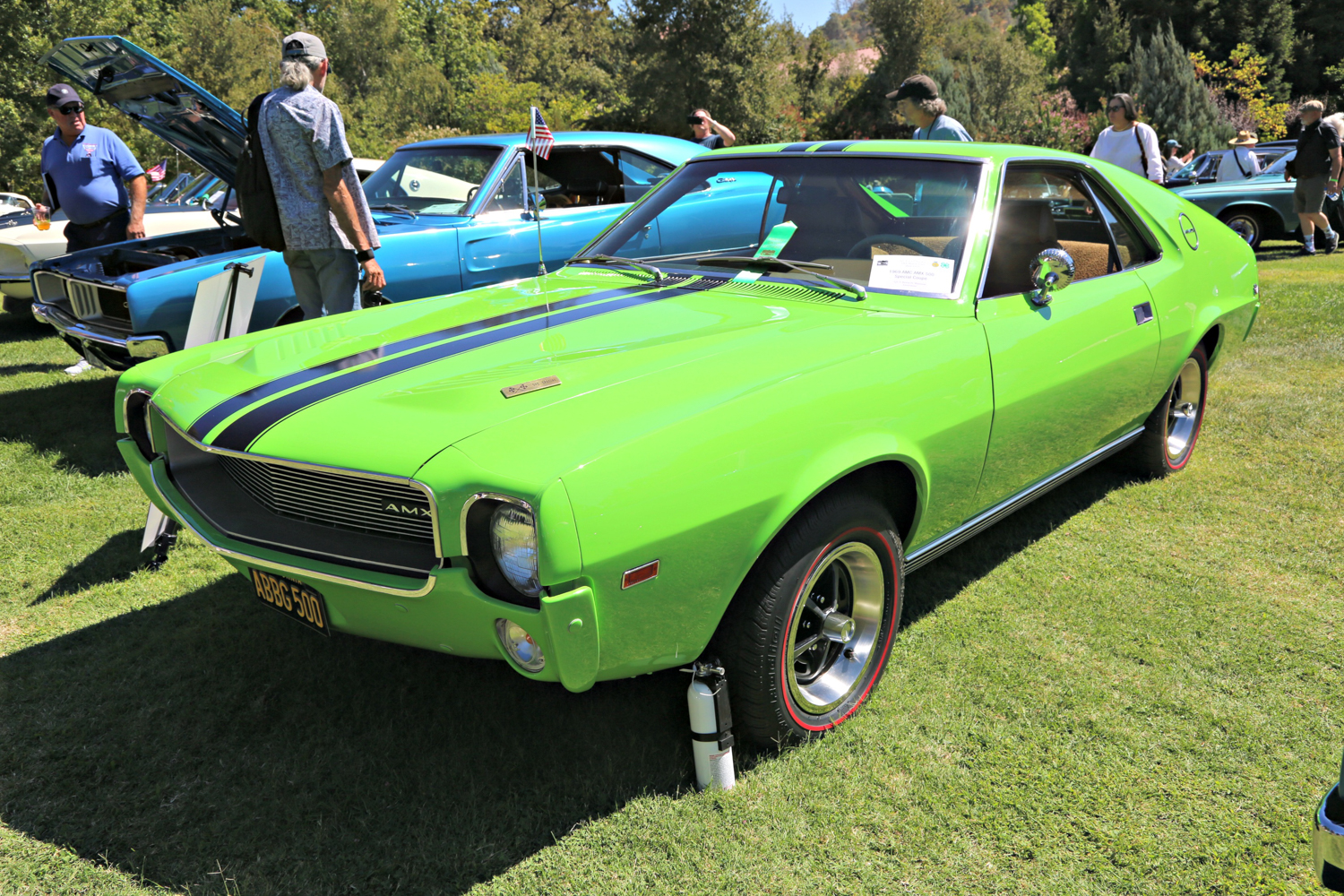 1969 AMC AMX 500 Speical. Kevin N. Shannon. Ironstone Concours 2018