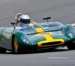 US visitor Peter Mclaughlin and his 1962 Lotus 23B. Ian Welsh Photo. Ian Welsh