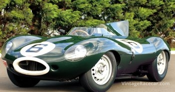 1955 Le Mans-Winning Jaguar D-type Chassis XKD 505. Photo: Peter Collins