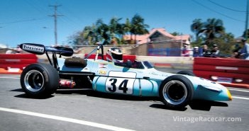 Andrew Fellowes showing how it's done in his 1971 Brabham BT36.