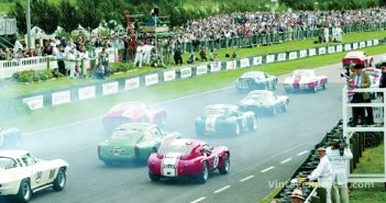 The TT grid makes a thunderous departure.Photo: Keith Booker