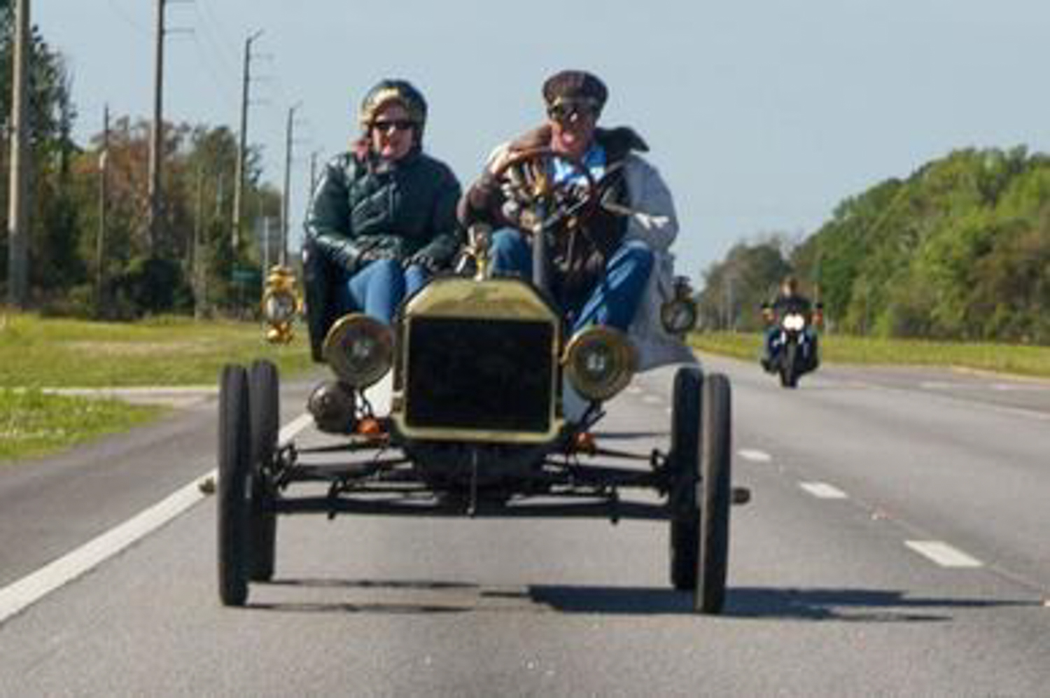 Milt and Rosemary Roorda won the Great Endurance Run in their 1909 Ford Model T Speedster.
