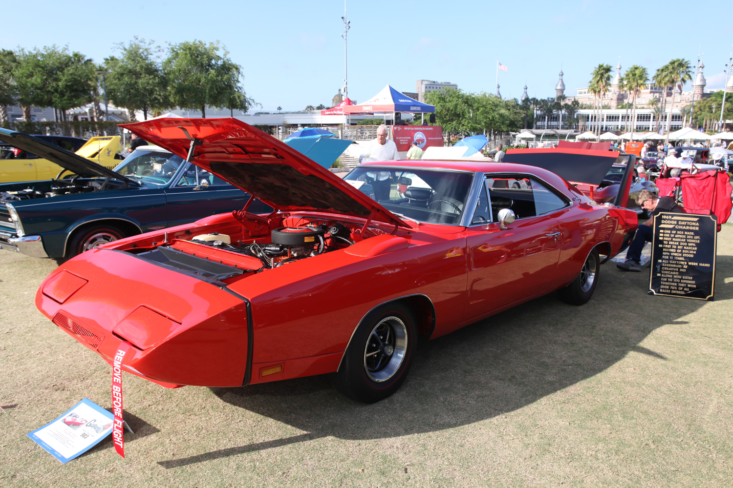 Unusual to see a '69 Dodge Daytona.  Superbirds seem to be more numerous.