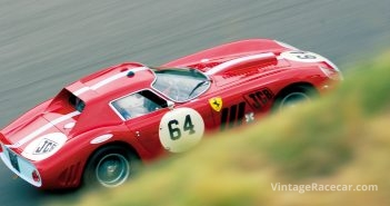 The 1963 Ferrari 250 GTO of Jo Bamford.Photo: Walter Pietrowicz