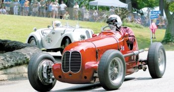 John Kendall in his Maserati 6CM.Photo: Walter Pietrowicz