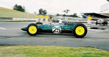 The Dawson-Damer Lotus25 was driven by Stephen Fryer.Photo: Steve Oom