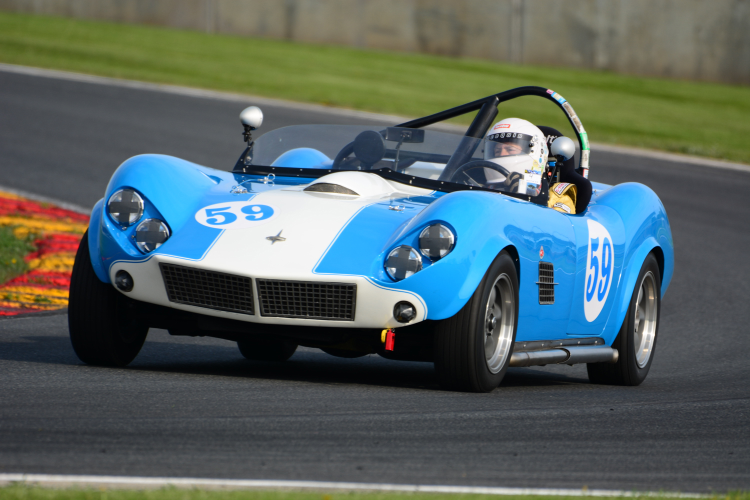 17 MAY: SVRA Spring Vintage Festival Fred Sickler