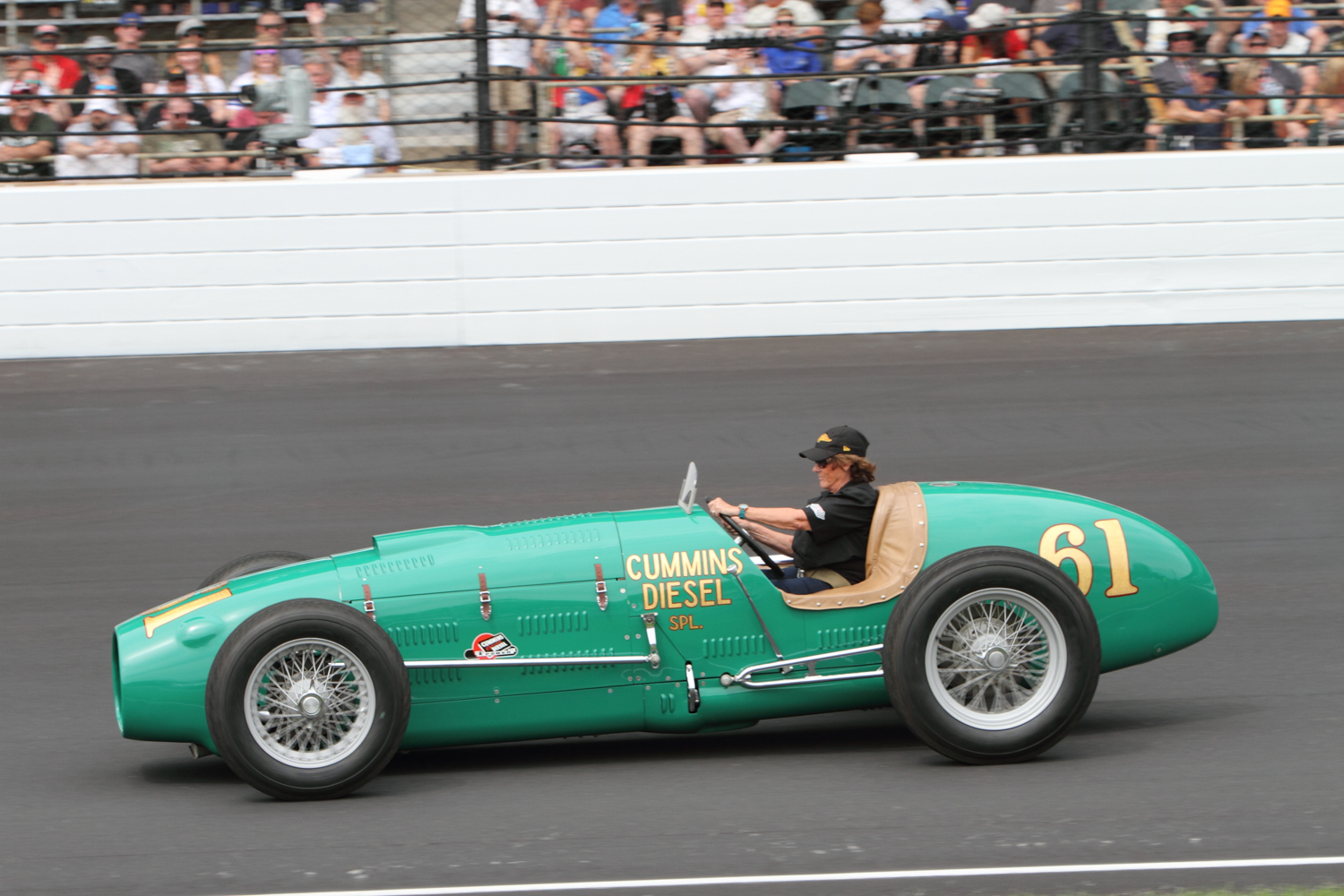 2019 Indy 500,5/26/19 Historic car laps Eric Drumwright