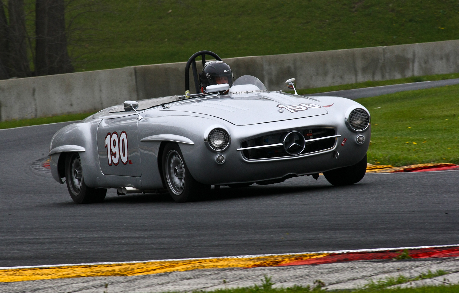 #190 - Doug Radix - 1955 Mercedes-Benz 190SL. Photo: Jeff Schabowski