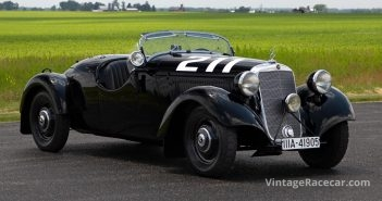 One-of-a-Kind Alpine Racer—1938 Mercedes-Benz 170VS