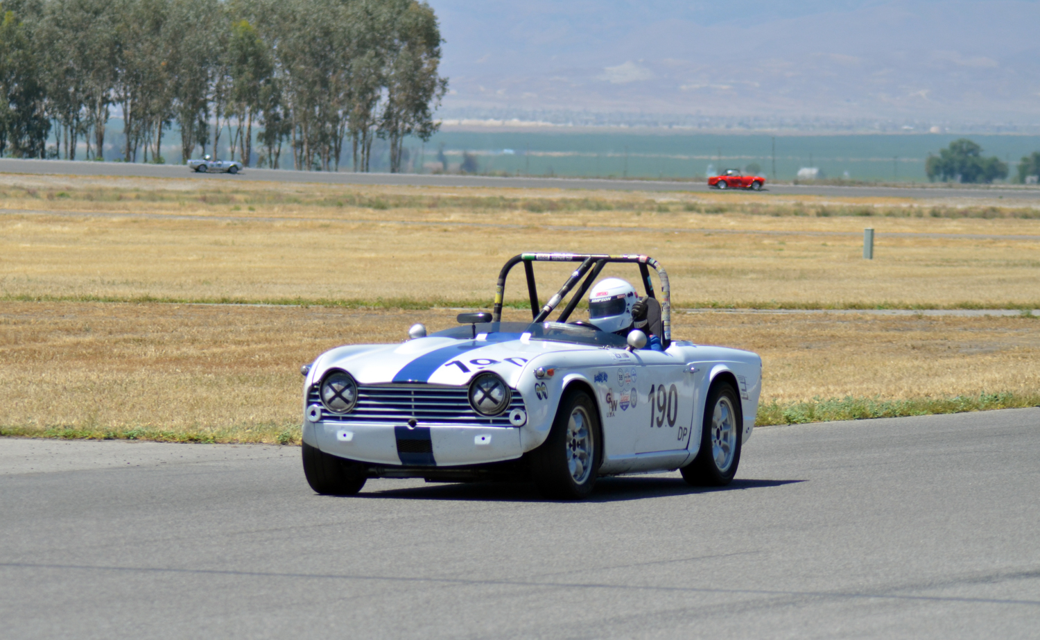 #190 Paul Smock, 1966 TR4A, Best Lap: 2:19.775