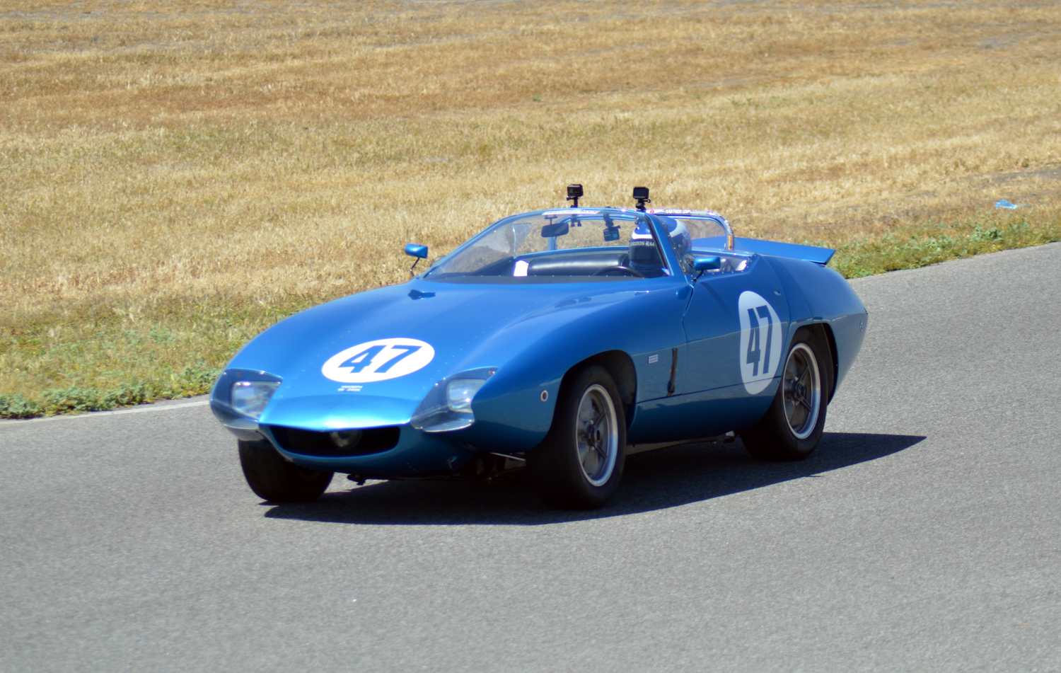 #47 Tony Garmey, 1967 TR250K. Best Lap: 2:09.322 Performance Award Prototype