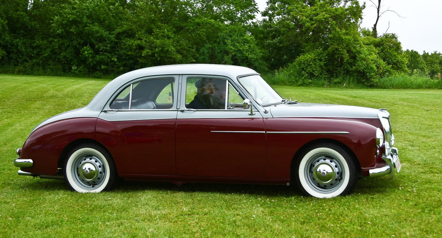1957 MG Magnette ZB Varitone - Timothy Tyre