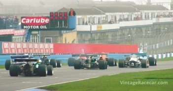 Start of the the Derek Bell Trophy race. Photo: Keith Booker