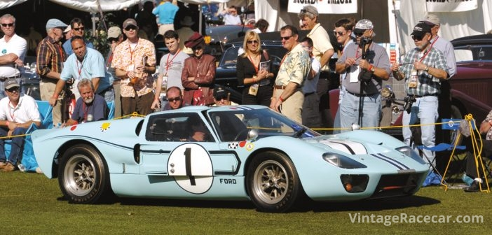 The Collier CollectionÕs 1966 Ford GT40.Photo: Hal Crocker