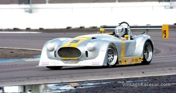 The result of when a Panoz LMP and a 1965 427 Cobra mate.Photo: Wayne Kitano