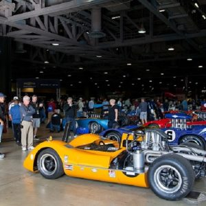 The Can Am racers attrated a huge crowd in the TGPLB paddock