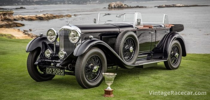 1931 Bentley 8 Liter Named Best of Show at the Pebble Beach Concours