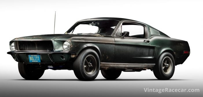 "McQueen's Original ""Bullitt"" Mustang to be Sold"
