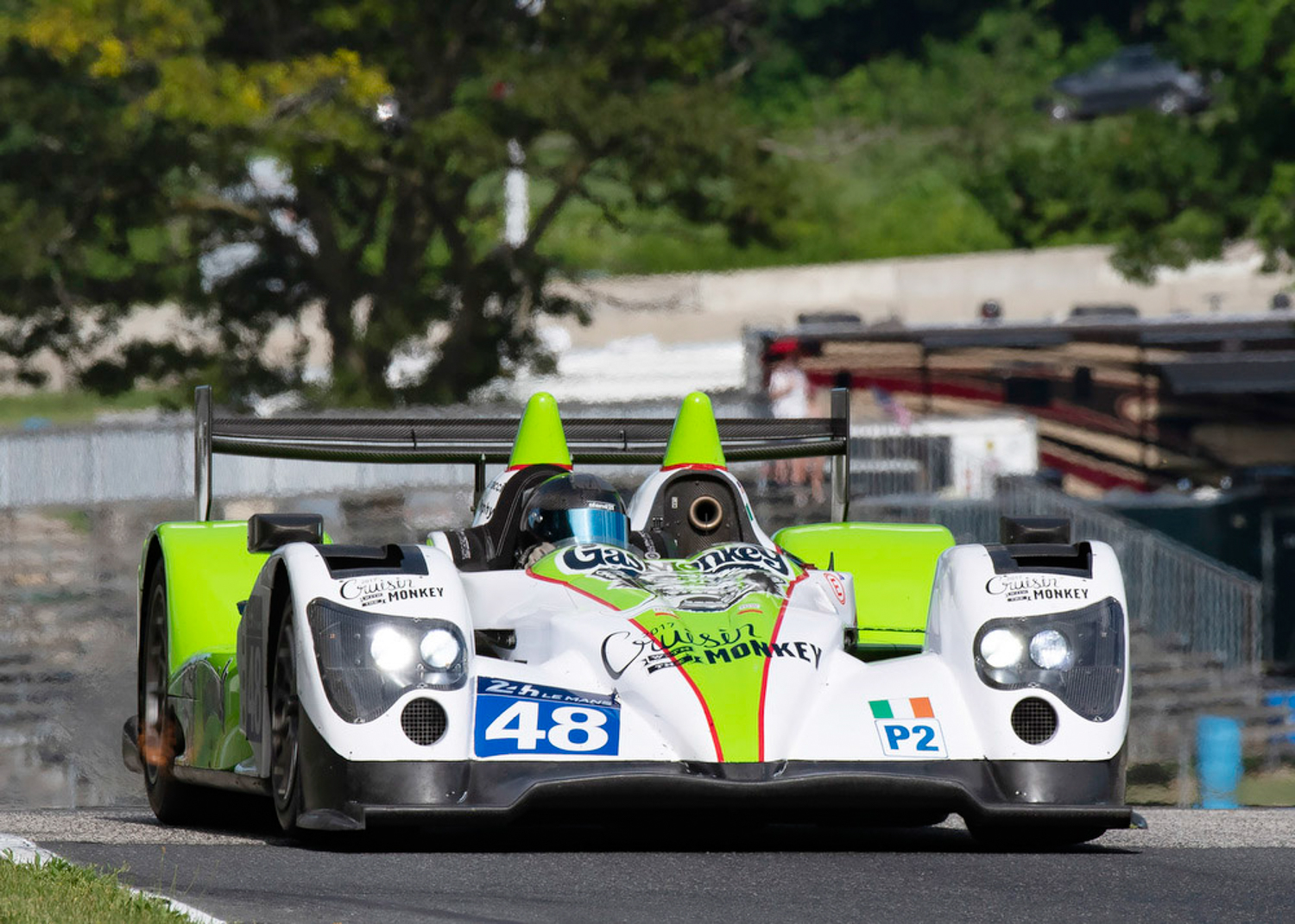 48 James Quadracci 2011 Oreca 03 Chuck Andersen