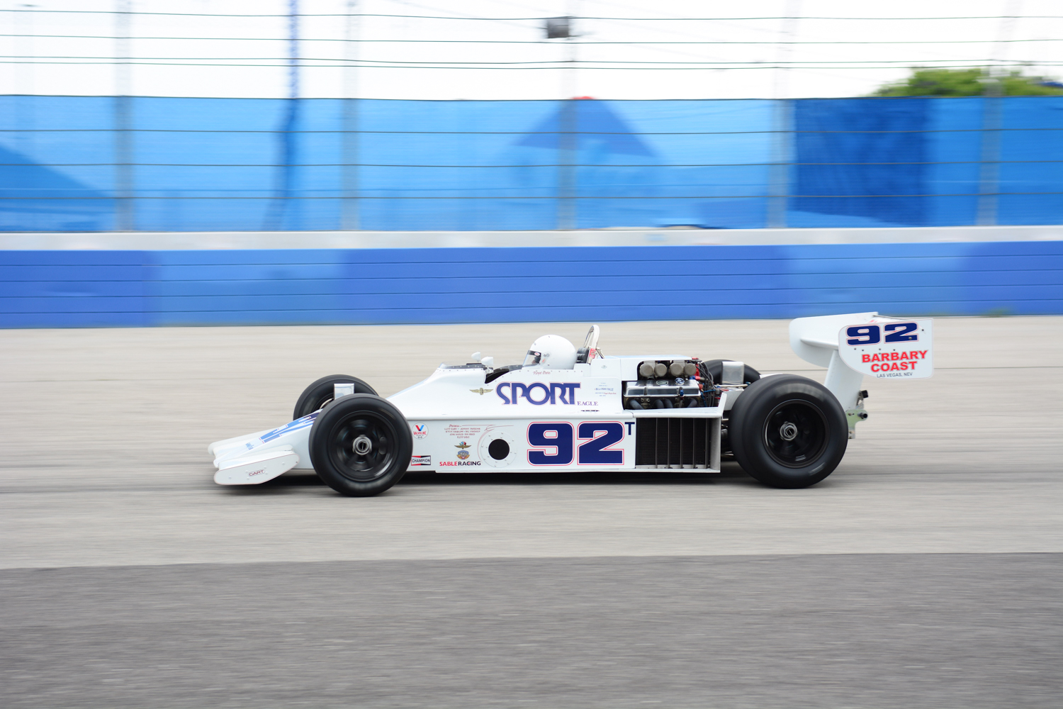 15 JUNE, Vintage Indy Registry at the Milwaukee Mile Fred Sickler
