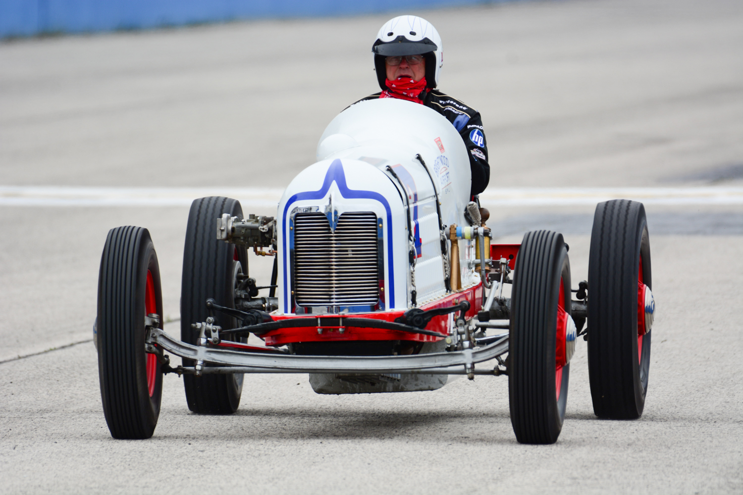16 JUNE, Vintage Indy Registry at the Milwaukee Mile Fred Sickler