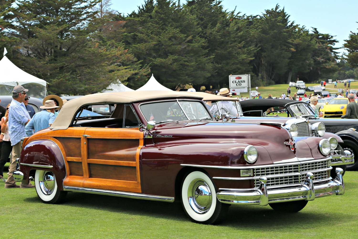 1946 Chrysler Town & Country. Donald Barnes