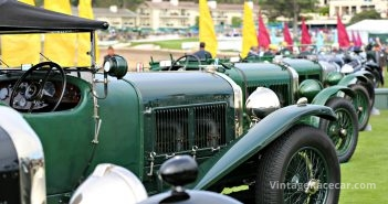 WO Bentleys at Pebble Beach. Steve Natale photo