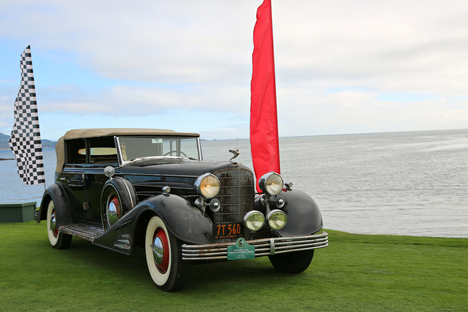 1933 Cadillac V-16 All Weather Phaeton. Steve Marini