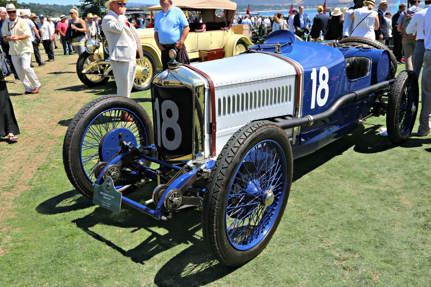 1922 Ballot 2 Litre Race Car. George F. Wingard