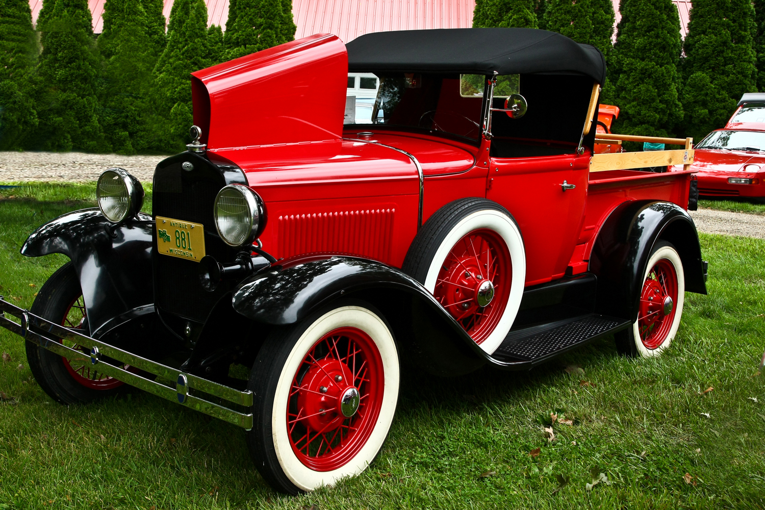 1931 Ford Roadster Truck - Don and Rita McCord - Fitchburg, WI j r schabowski