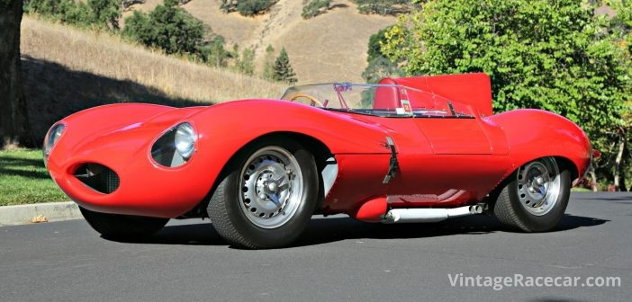 Seeing Red—1956 Jaguar D-Type XKD 518