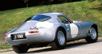 LYNX 1963 LOW-DRAG E-TYPE. Photo: Peter Collins