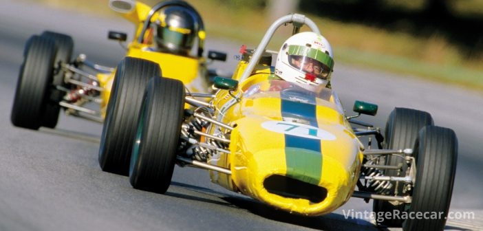 Ivan Frantz at the wheel of his 1969 Merlyn Mk11A FF.Photo: Walter Pietrowicz