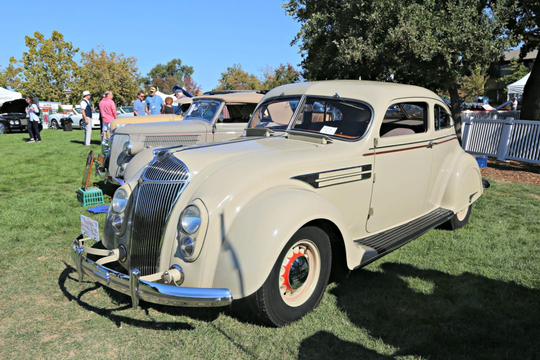 1936 Chrysler Airflow 8 Coupe. Dan Felderdtein