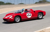 Stephen Hill in the 1963 Ferrari 250P. DennisGray