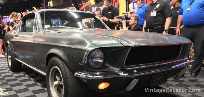 Famed Bullitt Mustang Sells for $3.4 Million