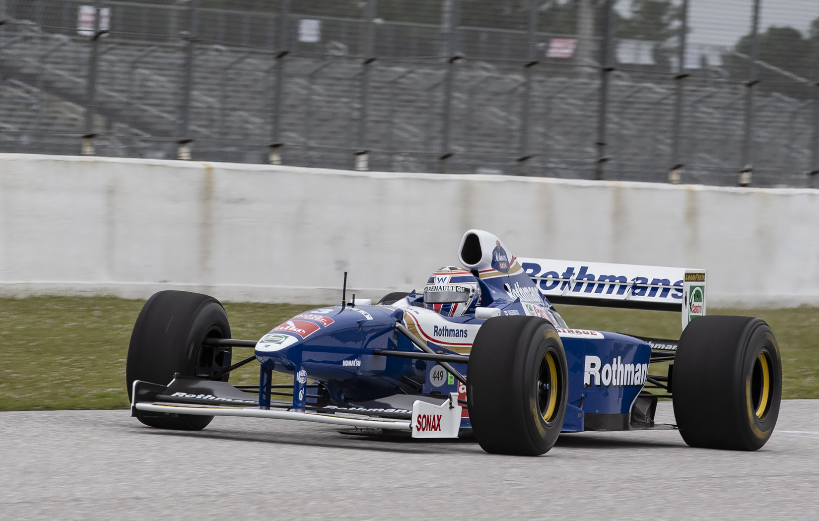 1997 Williams FW19 F1- X Jacques Villeneuve car Chuck Andersen